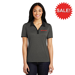 LADIES HEATHER CONTENDER CONTRAST POLO